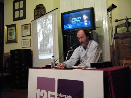 charla Ignacio Abella en el Ateneo Jovellanos de Gijón el31-enero-2008