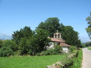 iglesia de Francos. Tineo