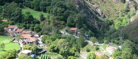 San Esteban de Cuñaba desde el mirador