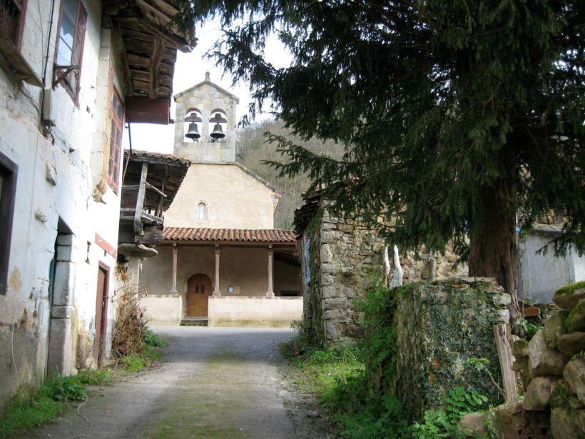 Tejo en Viñón. Enero '09. Al fondo, la iglesia de San Julián