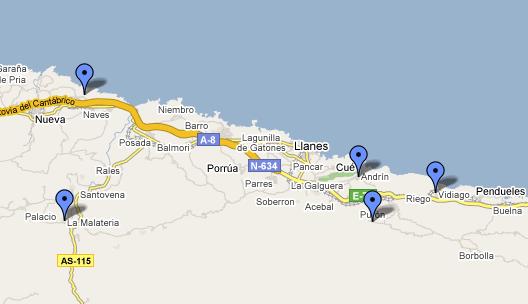llanes-maps