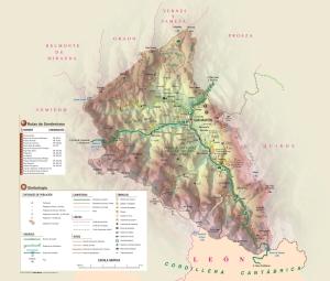 Teverga-mapa-fisico