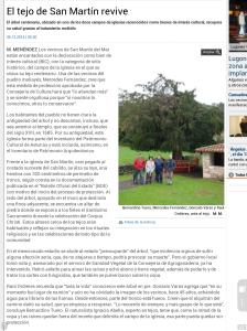 tejo de San MartínLNE